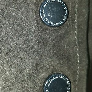 Isaac Mizrahi Jackets & Coats - Black Suede Jacket